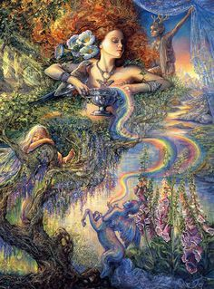 """Enchantment 1"" par Josephine Wall"