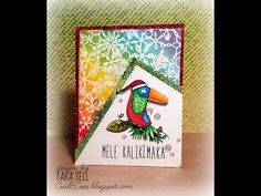 TupeloDesigns DT: Handmade Holiday: Day 10 ~ Tropical Christmas featuring MFT - YouTube