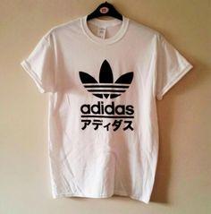 unisex customised adidas japan t shirt top festival swag urban
