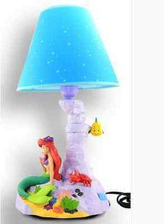 Disney The Little Mermaid Animated Lamp Desk Lamp Winter Christmas Gift