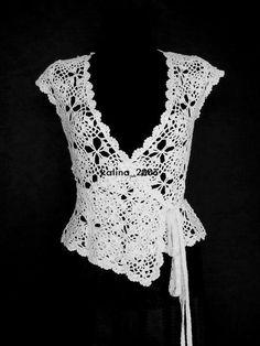 Kraina wzorów szydełkowych...Land crochet patterns..: bluzka