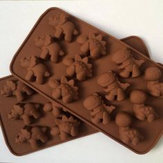 2 packs of dinosaur silicone molds. crayon molds. by KrayonCorner