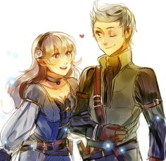 Corrin and Silas by Kash Pia