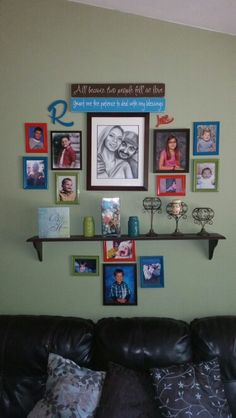Finally got my wall gallery done... well one can never say done, but done for now :)