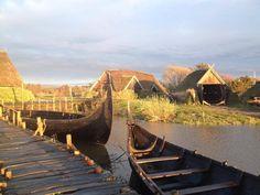 Bork Viking Habour (Vikingehavn), Denmark. http://paganroots.tumblr.com/post/86119792057/bork-vikingehavn