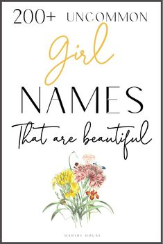 This is the only list of baby girl names you need. Perfect for millennial parent… – Girl Names Baby Girl Names Uncommon, Rare Baby Girl Names, Unique Girl Names, Names Girl, Cute Baby Names, Beautiful Baby Girl, Cute Baby Girl, Baby Baby, Middle Names For Girls