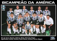 Grêmio bi-campeão da Libertadores da América em 1995