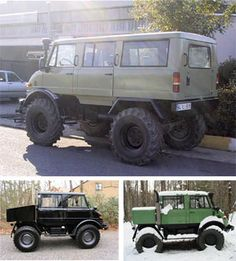 I want Mercedes Unimog. Eff having a mini van! If we have more than two kids we'll just drive a Unimog :-)