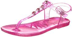 Willits Ariana Jelly Thong Sandal (Little Kid),Fuchsia,3 M US Little Kid This shoes / sandals / boots style name or model number is Ariana. Color: Fucshia. Material: Man-Made Upper and Man-Made Outsole. Measurements: 0.25 heel. Width: M.  #Willits #Shoes