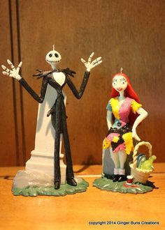 Disney Nightmare Before Christmas 7 by GingerBunsCreations on Etsy