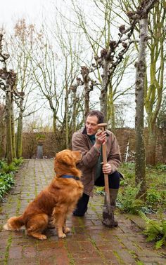 Monty Don and Nigel the retriever NIGEL: My family and other dogs publishes September 2016 Two Roads Books