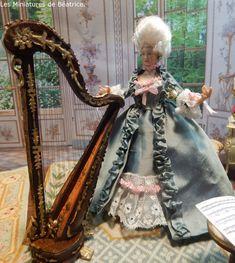 Les Miniatures de Béatrice Rococo, Baroque, Marie Antoinette, Porcelain, Victorian, Princess Zelda, Dolls, Character, Miniature Dolls