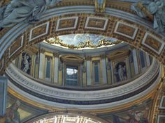 Inside St Peters.. I Want To Travel, Sicily, Rome, Saints, World, Amazing, Places, Beautiful, The World