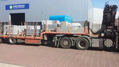 met 60 tons kraan klaar voor transport