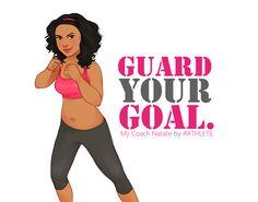 "Arthlete ~ ""Guard your goal."""