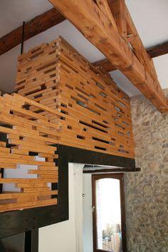 1000 images about claustra en bois on pinterest mezzanine cubes and 3d. Black Bedroom Furniture Sets. Home Design Ideas