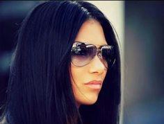 #blue#black#hair