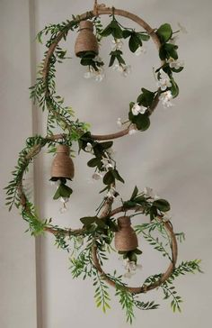 How to make decorative hanging from bottle - Simple Craft Ideas