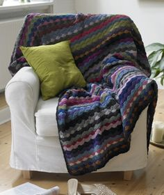 Moster Maries restetæppe Crochet Home, Knit Crochet, Knitted Blankets, Bed Spreads, Quilts, Sewing, Knitting, Diy, Inspiration