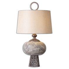Uttermost Adolphus Ceramic Lamp 26146