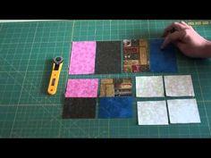 Bloco Jogo de Cartas Quilting - YouTube