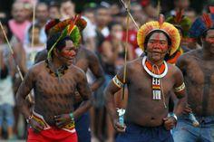 Cúpula do povos reuniu varias etnias.