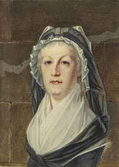 Portrait de la reine Marie-Antoinette au Temple, late 18th C, attributed to Alexandre Kucharski (1741-1819)
