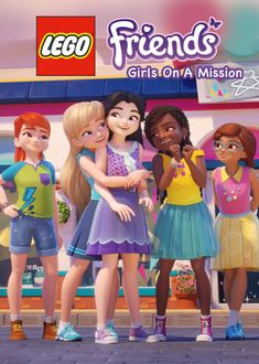 Information page about 'Lego Friends: Girls on a Mission' (starring Jasmine St. Clair, Allegra Clark, Rosamund Marks and more) on American Netflix :: from MaFt's NewOnNetflixUSA Lego Friends Birthday, Lego Friends Sets, Lego Birthday, Friends Girls, Lego Books, Friend Cartoon, Lego Girls, Mustache Party, Friends Wallpaper