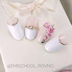 ❤ Moulder by plasticine❤ August in Rivne ð . Nail Art Designs Videos, Gel Designs, 3d Acrylic Nails, 3d Nails, Rose Nail Art, 3d Nail Art, Bride Nails, Wedding Nails, 3d Flower Nails