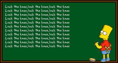 Bart Simpsons Chalkboard
