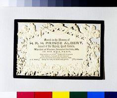 Queen Victoria mourning Prince Albert
