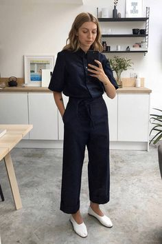 5 Autumn Work Outfit Ideas People Will Compliment You On | Who What Wear UK Casual Work Outfits, Work Attire, Mode Outfits, Work Casual, Summer Outfits, Fashion Outfits, Chic Outfits, Work Outfit Summer, Black Work Outfit