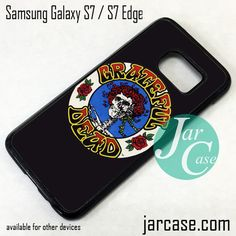 Grateful Dead Logo Phone Case for Samsung Galaxy S7 & S7 Edge