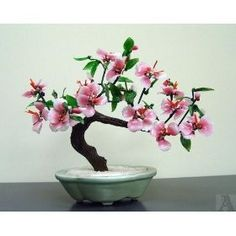 pink bonsai tree. need one for the bathroom