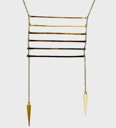 Ombre Ladder Necklace by Crow Jane Jewelry on Scoutmob Shoppe