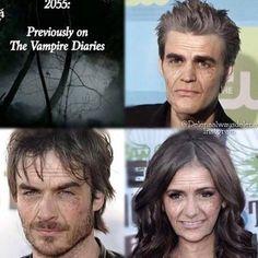 Hahaha...*_* ︳The Vampire Diaries