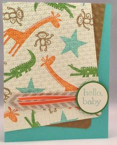 Stampsational Quilted Zoo Babies