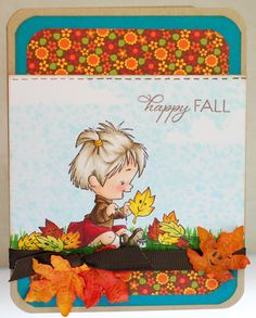 A thousand sheets of paper: Happy fall...