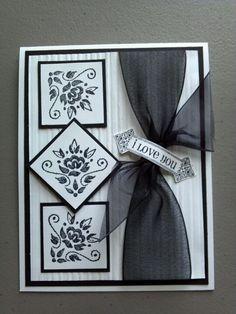 18 Ideas For Birthday Greetings Cards Handmade Love Tarjetas Stampin Up, Tarjetas Diy, Stampin Up Cards, Wedding Cards Handmade, Handmade Birthday Cards, Greeting Cards Handmade, Love Cards, Diy Cards, Wedding Anniversary Cards