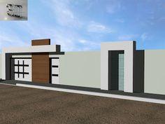 Main Gate Design, Fence Design, Wall Design, Design Art, Compound Gate Design, Compound Wall, Modern Entrance, Entrance Gates, Gate Designs Modern