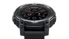 relógio watch nixon the mission androidwear o futuro é mac black