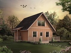 Woodbridge A-Frame Cottage Home Plan 001D-0086 | House Plans and More