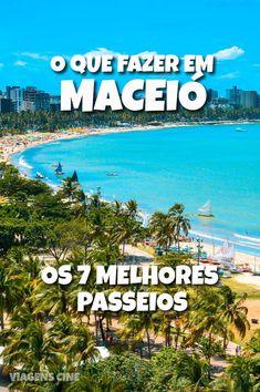 O que fazer em Maceió: Os 7 Melhores Passeios e Pontos Turísticos, como os passeios até as piscinas naturais de Pajuçara e o Hibiscus Beach Club #Maceió #Alagoas #DicasdeViagem #Viagem #Pajuçara #Hibiscus Beach Club, Cheap Accommodation, Esl Lessons, Destin Beach, Europe, Album, Small Towns, Places To Travel, Brazil