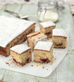 Jammiest Coconut Cake | recipe from the book 'Bake Me a Cake' by #GBBO s1 finalist Miranda Gore Browne | via The Happy Foodie
