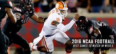 Best College Football Games to Watch in Week 5 of the 2016 NCAA Season