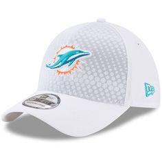 acf81441b35f9 Miami Dolphins New Era 2017 Color Rush NFL Kickoff 39THIRTY Flex Hat – White