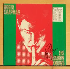 ROGER CHAPMAN - The Shadow knows - near mint - Vinyl LP Original SIGNED by Roger