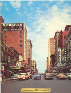 1950 downtown Tulsa
