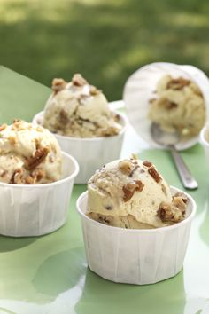 Butter Pecan Ice Cream  - CountryLiving.com