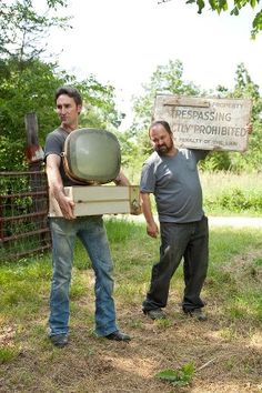 American Pickers: Mike & Frank!